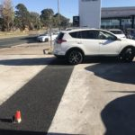 3mm Charcoal, Commercial Carpark Overlay, Phillip ACT